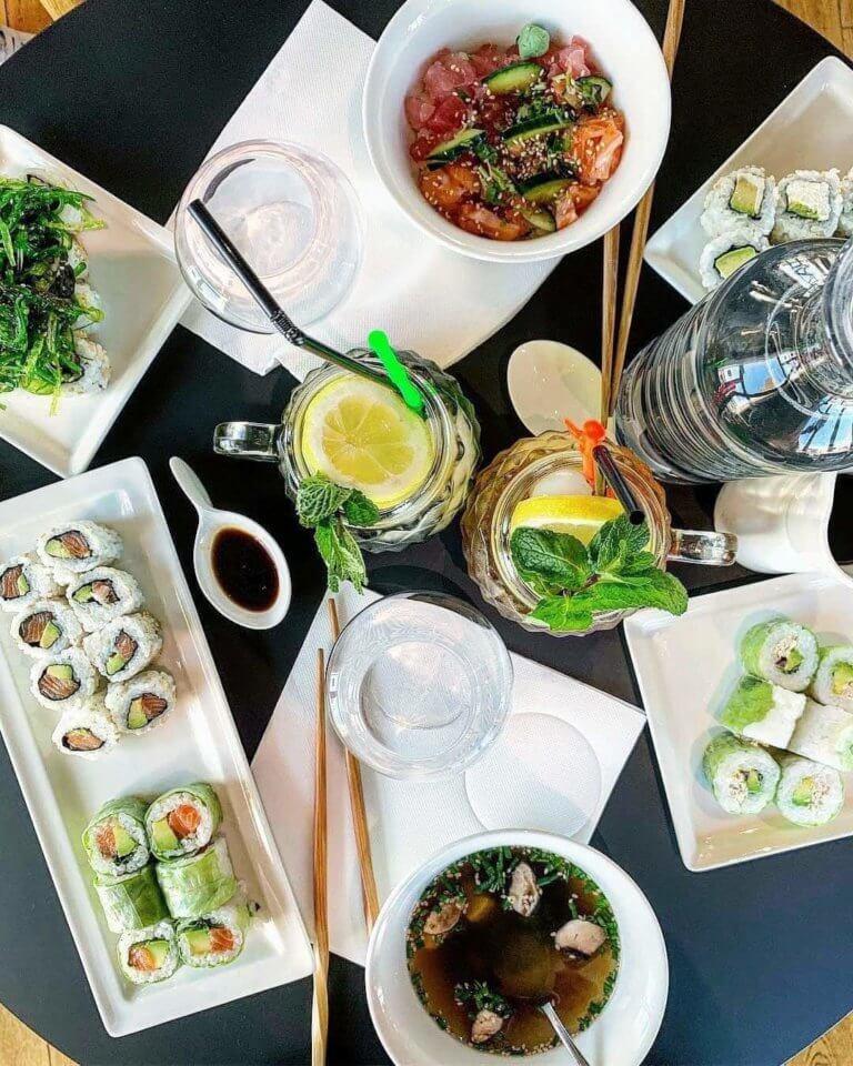 restaurant sushis marseille valentine